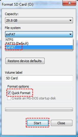 format exfat software best free software to format sd card to exfat on windows