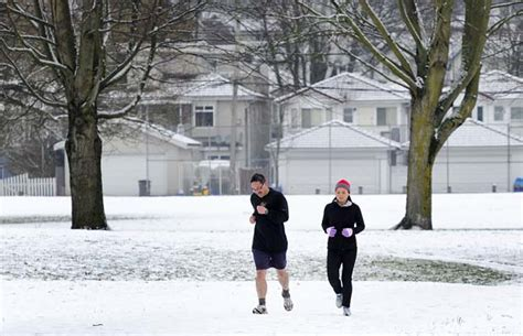 updated photos winter weather whacks metro vancouver