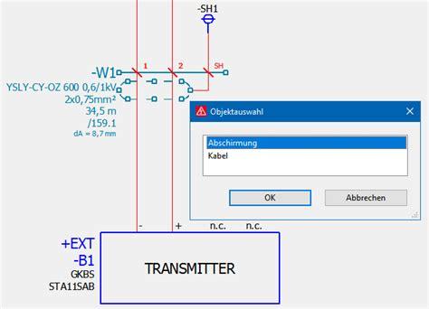 kabelbezeichnungen tabelle eep8 kabel mit schirm schnelles 196 ndern beider bmk