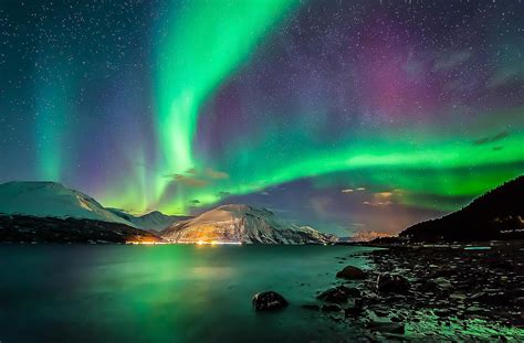 northern lights from space aurora borealis space photo 36270547 fanpop