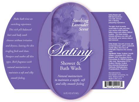Bath Shower Gel label design gallery aire master