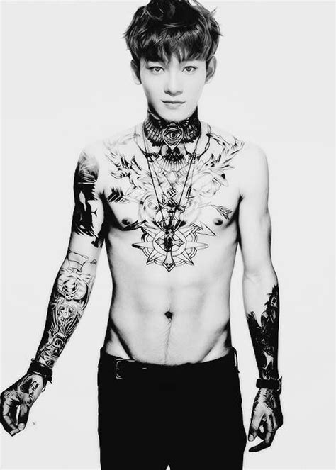 chanyeol tattoo edit 79 best images about exo tattos on pinterest sexy new
