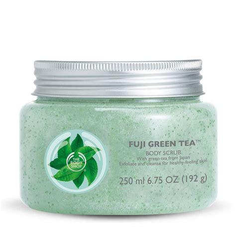 Green Tea Fleecy Scrub Original Terlaris the shop the shop fuji green tea scrub review bulletin scrubs
