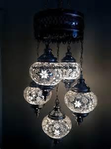 turkish l chandelier 5 chrome turkish moroccan hanging glass mosaic