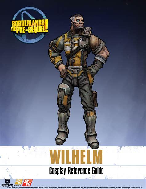 Borderlands the pre sequel gu 237 a de referencia cosplay de wilhelm