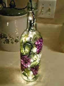 lights in bottles wine bottle light cali unique crafts