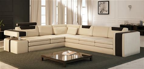 rearrangeable sectional vista modern italian design leather sectional sofa cp 9001