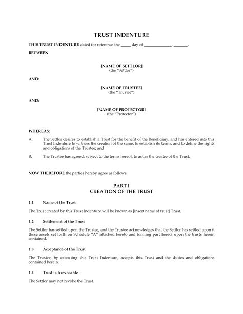 deed of gift template australia 100 deed of trust template australia 45 free