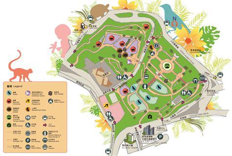 Hong Kong Zoological And Botanical Gardens Garden Map Hk Zoological And Botanical Garden