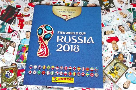 Panini Stickers Russia 2018