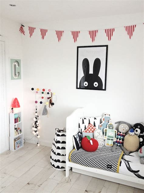 Bedroom Ideas For Boys by 10 Habitaciones Infantiles En Blanco Y Negro Pequeocio