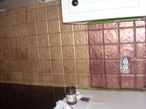 Painting Kitchen Tile Backsplash The World S Catalog Of Ideas