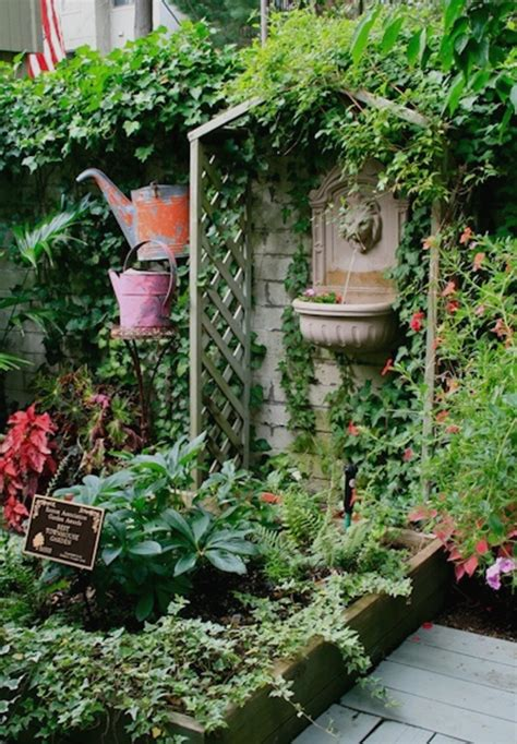 Ideas For Small Patio Gardens Small Patio Garden Design