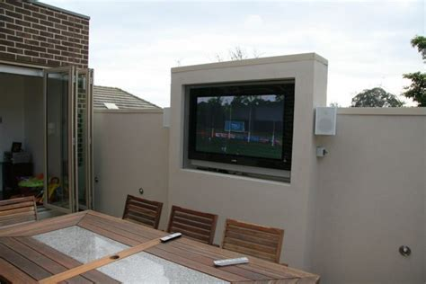 backyard tv 17 best ideas about outdoor tv cabinets on pinterest