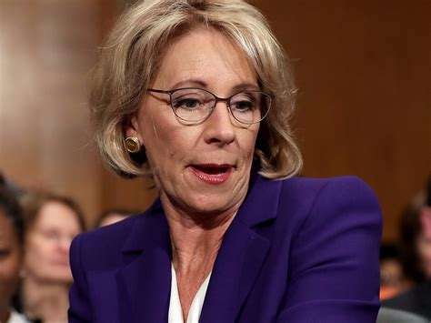 betsy devos business the main worry with betsy devos business insider