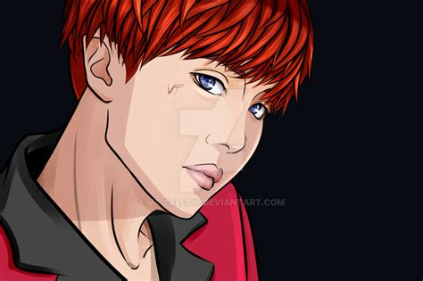 J Anime In by Bts Dna Anime Version J By Vt Celecis On Deviantart