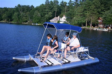 bicycle paddle boat aqua cycle 4x4 aqua cycle pontoon paddle boats