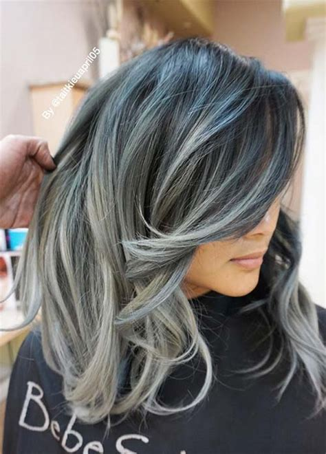 hair color gray 85 silver hair color ideas and tips for dyeing