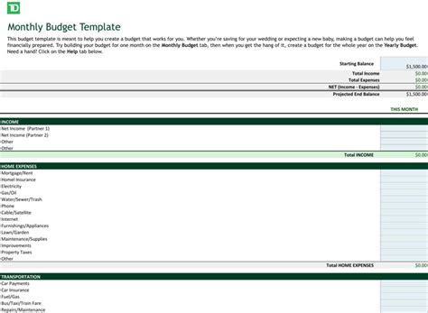 business budget template excel excel business templates free premium