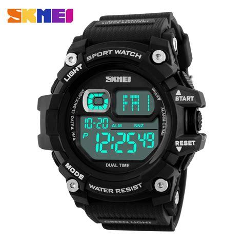 Jam Tangan Pria Skmei S Shock 1101 jual jam tangan pria skmei digital s shock sport