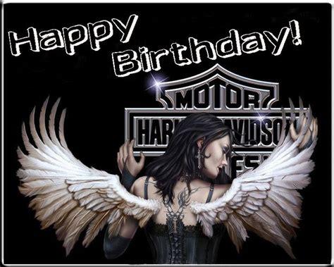 Imagenes De Happy Birthday Angel | happy birthday harley davidson angel verjaardagspins