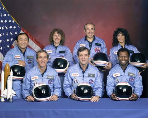 challenger astronauts names the flaming nose challenger space shuttle disaster 25th
