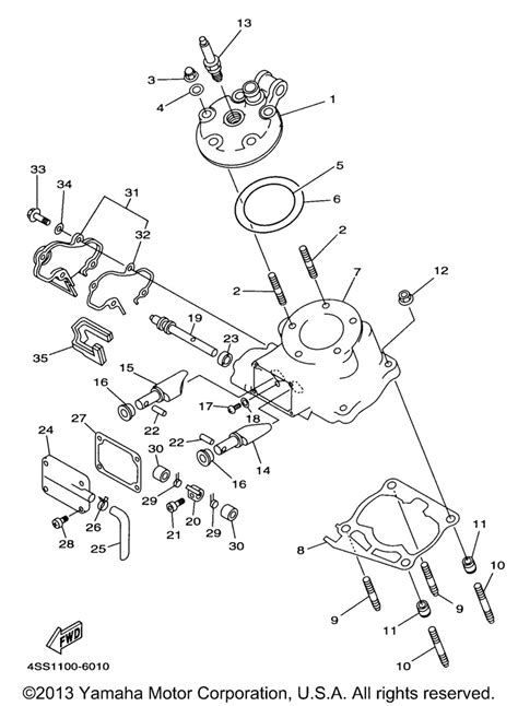 yz 250 power valve wiring diagrams wiring diagram schemes