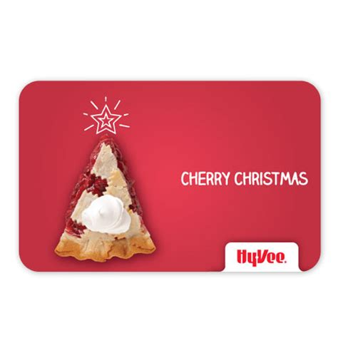 Hy Vee Gift Card Special - shop gifts hy vee gift cards hy vee gift card cherry christmas 284720