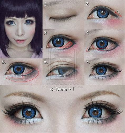 tutorial makeup kawaii japanese makeup tutorial tumblr kawaii makeup