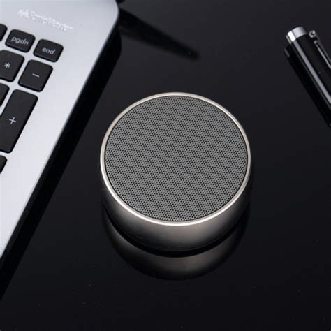 Speaker Bluetooth Mini Metal Bass Portable Bluetooth Speaker Pr 1 metal mini portable bluetooth speaker bass bs 10 black jakartanotebook