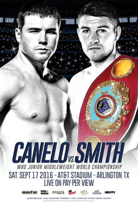 Canelo vs. Smith Undercard Announced Girls Hbo Title Card