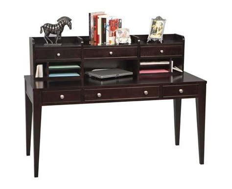 60 quot w espresso writing desk w hutch woodworks home