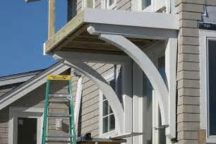 Structural Corbels And Brackets Building Structural Brackets For A Balcony Deck Jlc