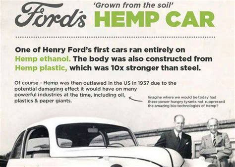car made by henry ford henry ford made a hemp car in 1941 but no one knows about