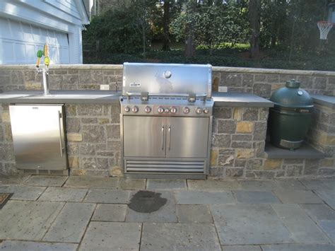 Outdoor Kitchens And Grills Patio Atlanta By Outdoor Kitchen With Kegerator