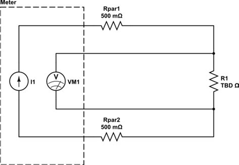 how to measure resistance pdf how to measure a resistance accurately electrical