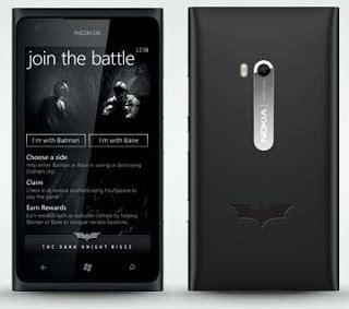 Hp Huawei Edisi Batman nokia lumia 900 edisi batman makin keren dan elegan