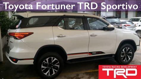 Ring Fogl Fortuner Model Trd all new toyota fortuner trd sportivo 2017 review