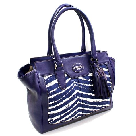 Zebra Bag vera bradley handbags coach zebra handbags