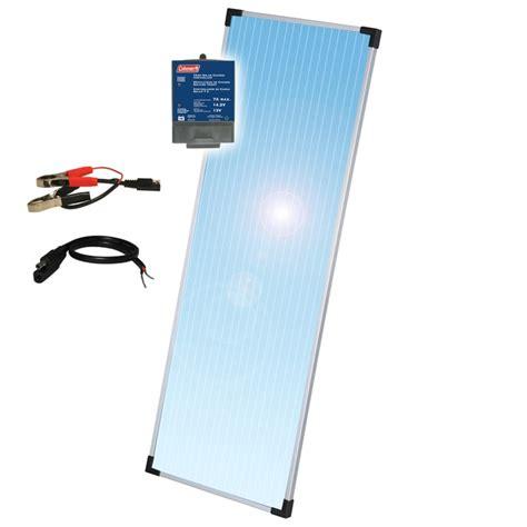 lasting 12 volt battery for solar panels sunforce coleman 18 watt 12 volt solar panel kit with 7