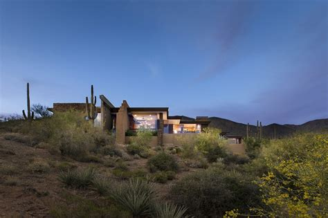 modern home  mountain views  scottsdale arizona