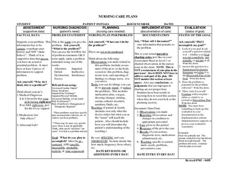 nursing home care plans nursing notes nursing care plans download as doc doc