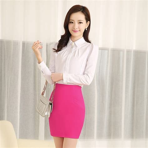 design fashion korea korea fashion design lady shirt work shirt tianex