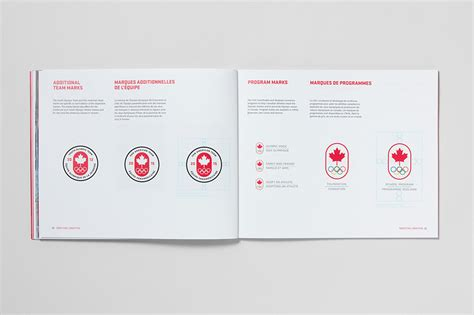 design guidelines inspiration the canadian olympic team brandart and design inspiration