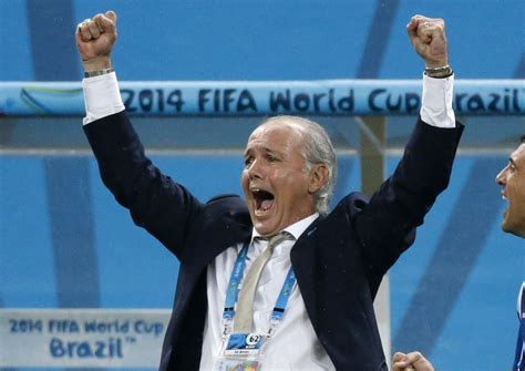 argentina coach 2014 fifa world cup argentina defeats netherlands 4 2 in