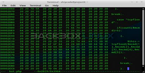 irc section 877 analysis on pbot a php irc bot that has malicious