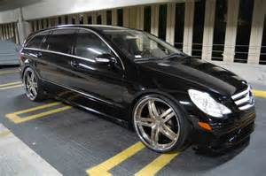 mercedes r class custom wheels modular society 24x9 0