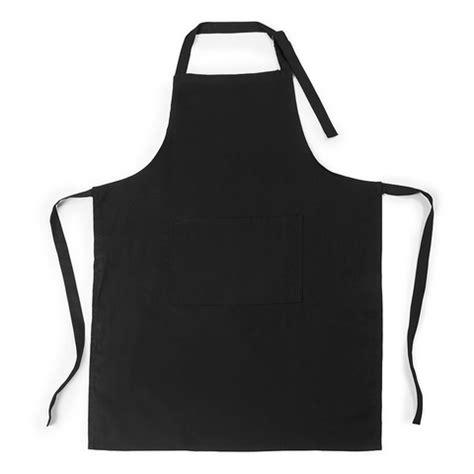 cotton black apron | kmart