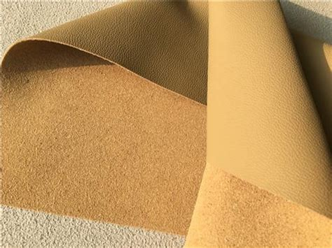 automotive upholstery fabric wholesale beige leather auto upholstery material flocking car seat