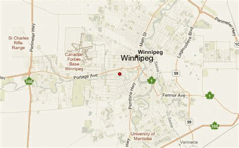 winnipeg map of canada winnipeg location guide